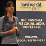 Victoria Stilwell spoke to a full house at BarkWorld Expo 2011.